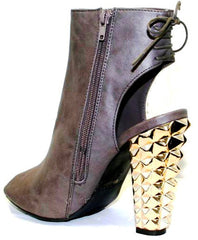 "Rachel Boots Diamond Design 3"" Heel"