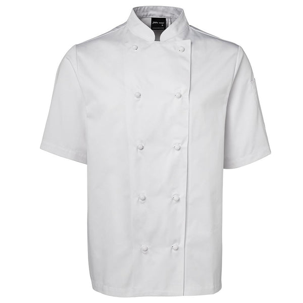 SHORT SLEEVE UNISEX CHEFS JACKET