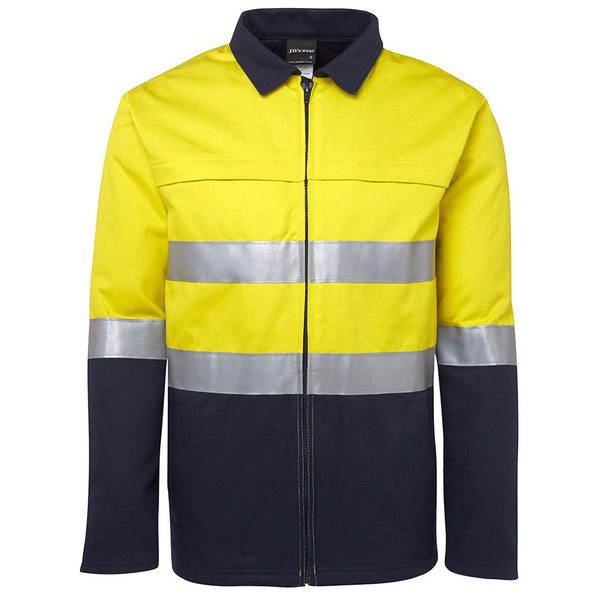 HI VIS D-N COTTON  JACKET