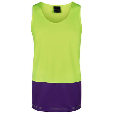 HI VIS TRADITIONAL SINGLET