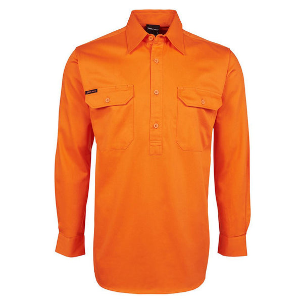 HI VIS CLOSE FRONT SHIRT