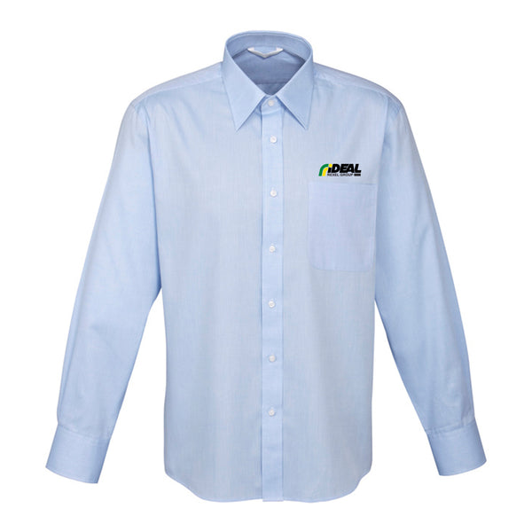 CORPORATE MEN'S LONG SLEEVE LIGHT BLUE SHIRT