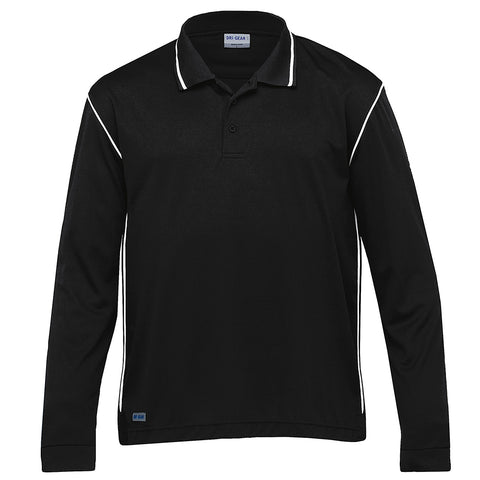 DRI GEAR LONG SLEEVE HYPE POLO