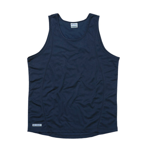 DRI GEAR MENS PLAIN SINGLET