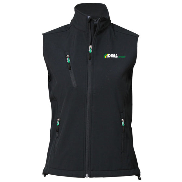 INDUSTRIAL SOLUTIONS LADIES SOFT SHELL VEST