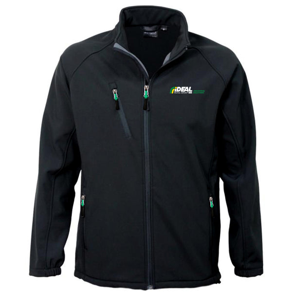 INDUSTRIAL SOLUTIONS MEN'S SOFT SHELL JACKET