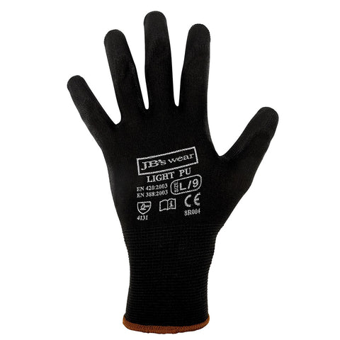 Light PU Glove - black
