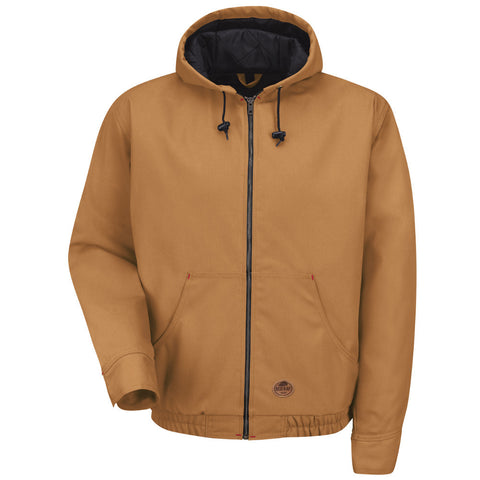 BLENDED DUCK HOODED JACKET