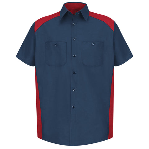 Red Kap Motorsports Shirt SP28 Navy Red