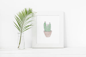 Little Cactus Art Print