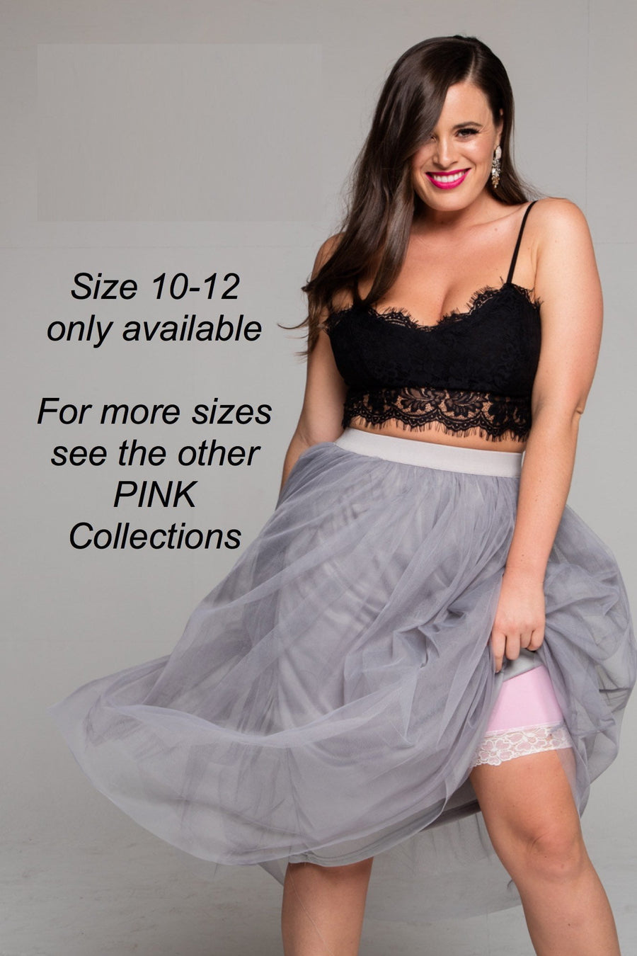 Miss Monroes 10-12 - Read Sale conditions below / Mid SALE 'La Vie en Rose'<br> (MID LEG)<br> Anti Chafing Shorts