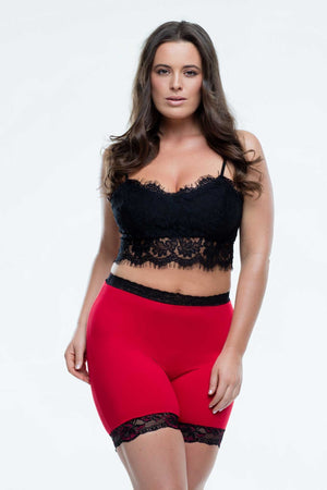 Miss Monroes 08-10 / Mid z_OLD DON'T USE 'Bella Rouge'<br> (SHORT LEG) Limited Edition<br> Anti Chafing Lingerie for Thighs
