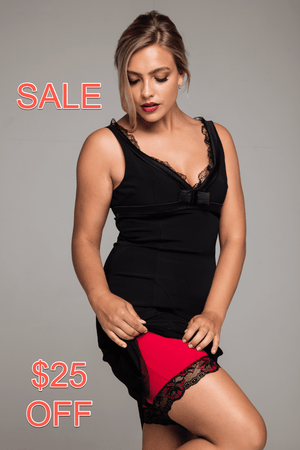 Miss Monroes 08-10 - Read Sale Conditions below / Mid SALE  'Bella Rouge'<br> (SHORT LEG)<br> Anti Chafing Shorts