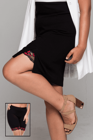 Miss Monroes 8-10 / Low 'Rockabella Babe'<br> (SHORT LEG) <br> Anti Chafing Shorts