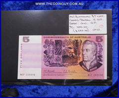 1967 Australian Five Dollar Notes Unc
