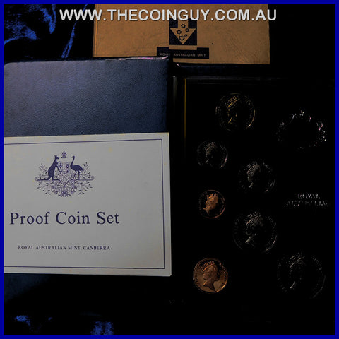 1985 Australian Proof Sets In Box