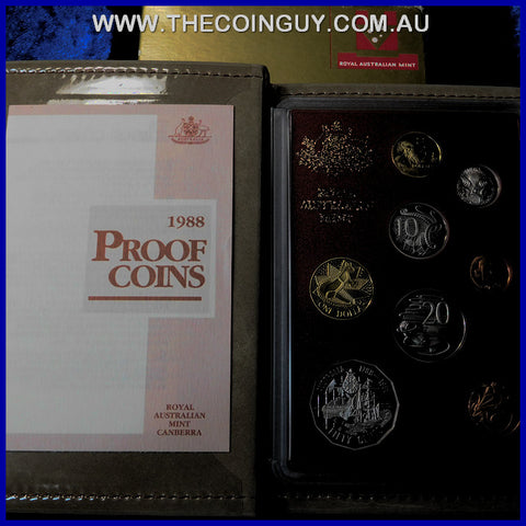 1988 Australian Proof Sets Bicentennial