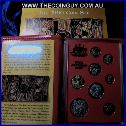 1990 Australian Proof Set