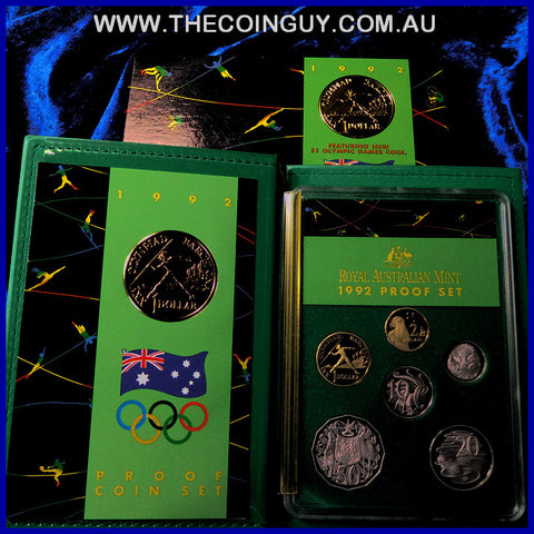 1992 Australian Proof Sets Barcelona Olympic Games