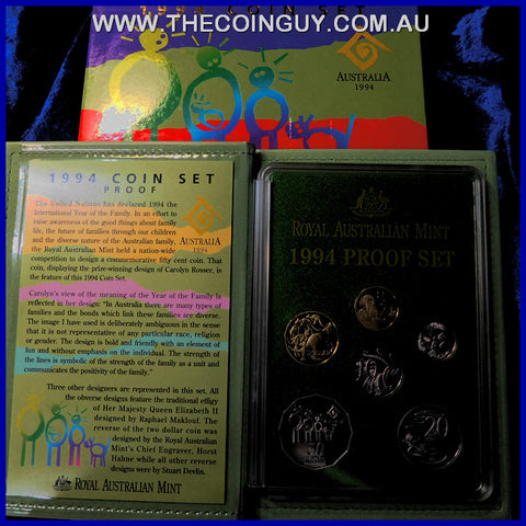1994 Australian Proof Sets Year of the Family
