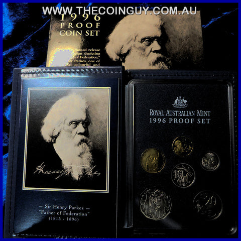 1996 Australian Proof Sets Sir Henry Parkes Centenary
