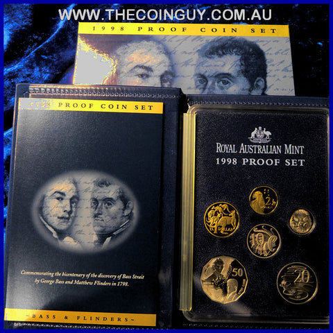 1998 Australian Proof Sets Bass & Flinders