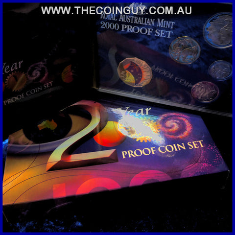 2000 Australian Proof Sets Millennium Celebrations