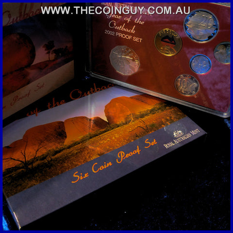 2002 Australian Proof Sets Year Of The Outback