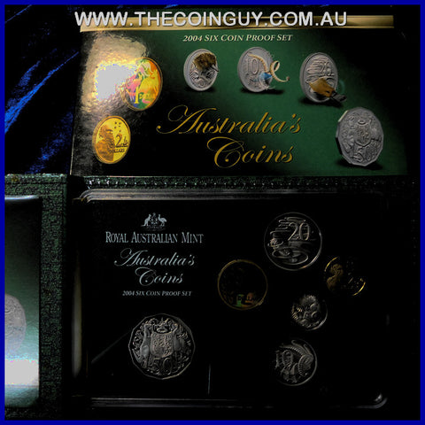 2004 Australian Proof Sets Come Alive