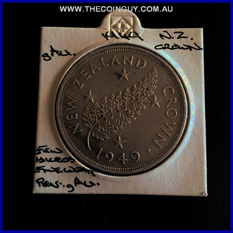 1949 New Zealand Crown gAU