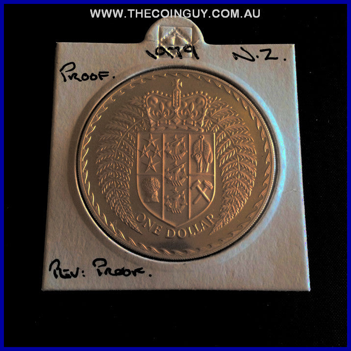 1979 New Zealand One Dollar Proof