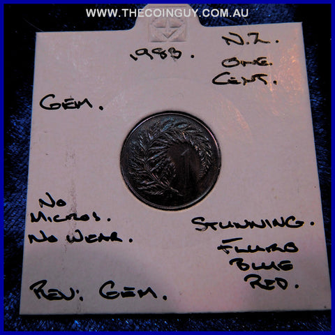 1983 New Zealand One Cent Gem