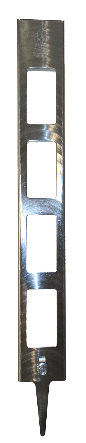 Frame for the Dymondback hoof rasp