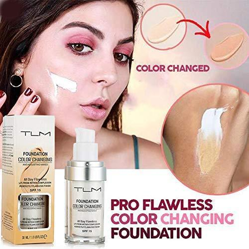 TLM Color Changing Foundation SPF 15 30ML