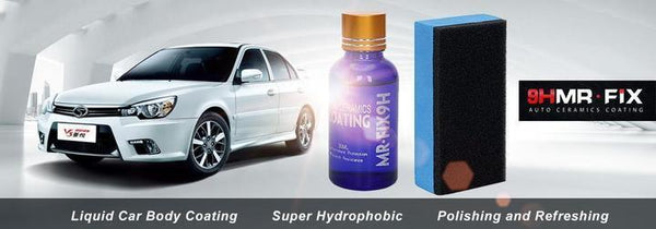 5 Pack x Ultra Ceramic Car Coating Protection