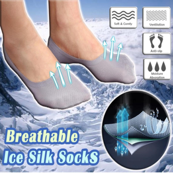 Ice Silk Socks (Set of 3)