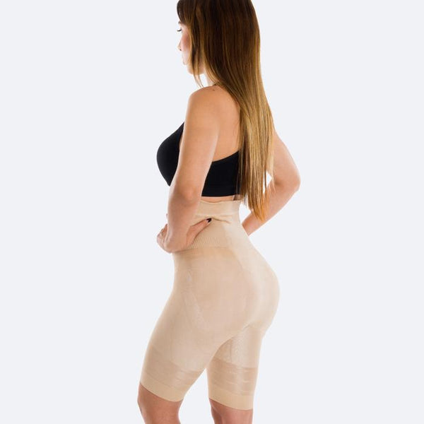 High-Waist Shaping Shorts