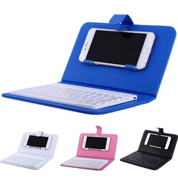 Blue Mini iPhone-Android Bluetooth Keyboard