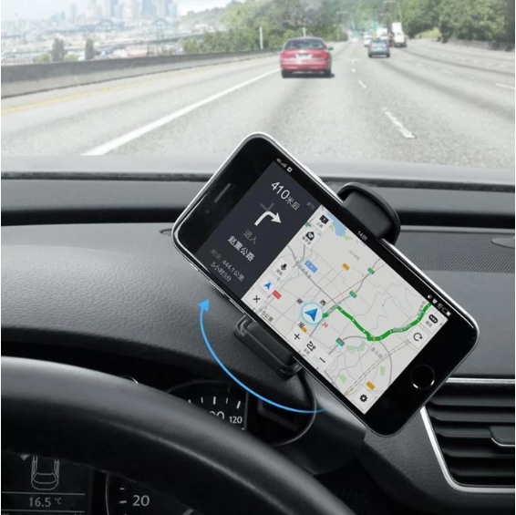 Universal Rotatable Car Phone Clip Holder