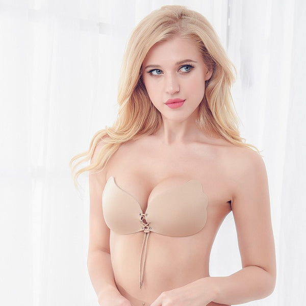 Invisible Strapless Push-Up Bra