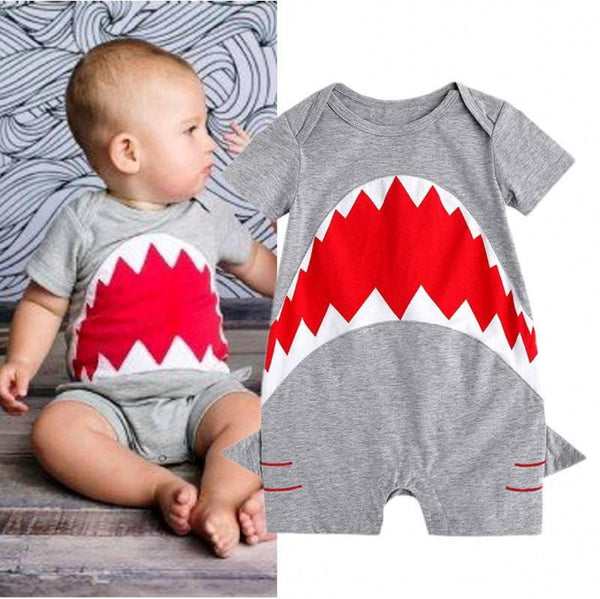 Shark Romper - Free Shipping!