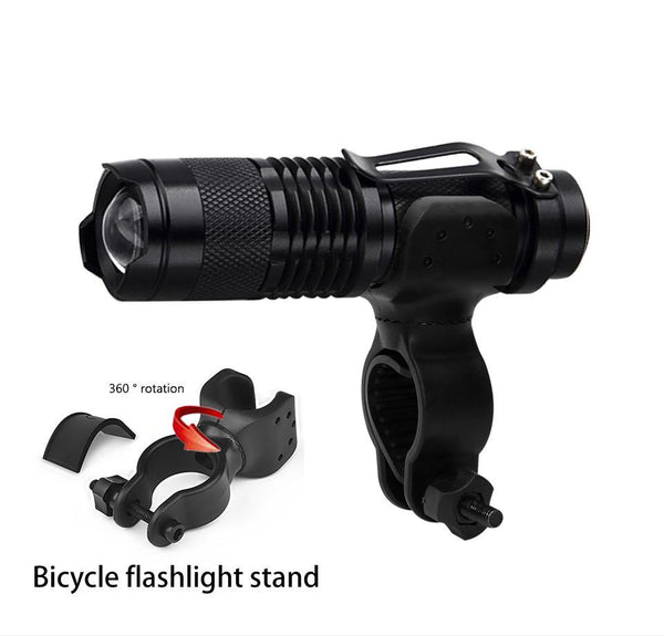 2 Pack x LED Front-Mount Bike Light