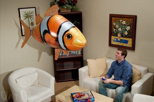 AirFish™ - The Remote Controlled Fish Blimp