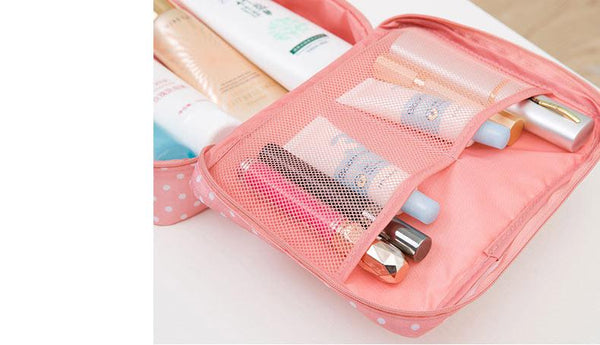 Square Makeup Travel Bag