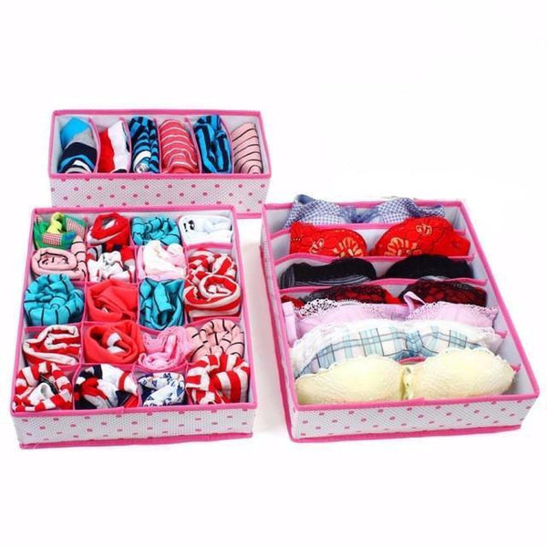 Lingerie Drawer Organizer Set (3 Pieces)
