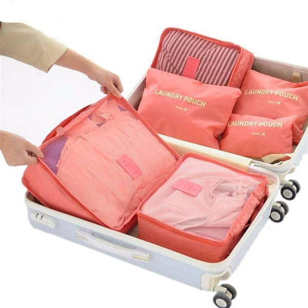 5a35aa009460 Travel Luggage Organizer (6 pieces)
