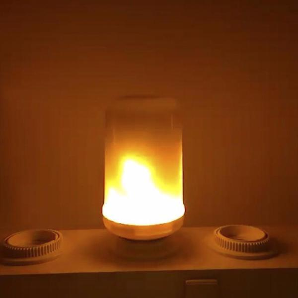 Cozy Flame-Effect LED Lights