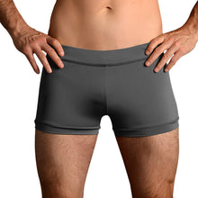 Load image into Gallery viewer, Gray Taupe Hot Yoga Freedom Shorts