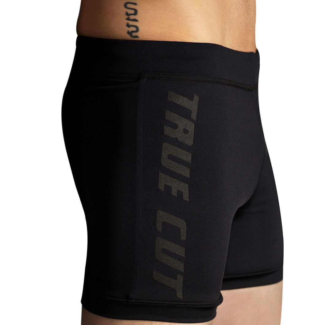 Black Hot Yoga Cross Training Shorts