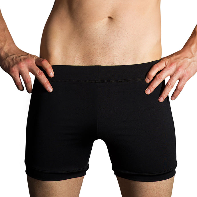 Black Hot Yoga Evolve Shorts
